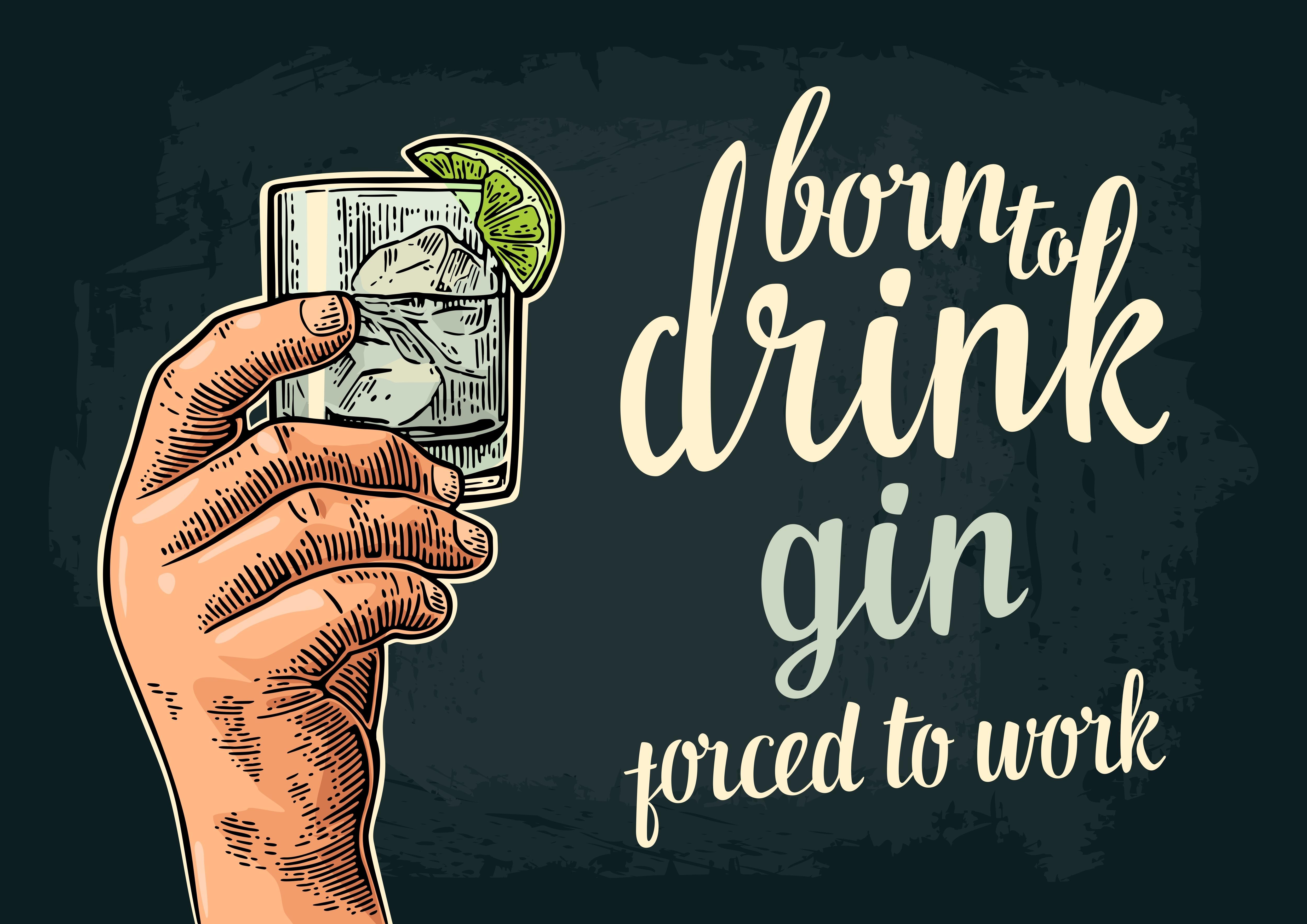 Hvorfor alle store forandringer smager af gin…